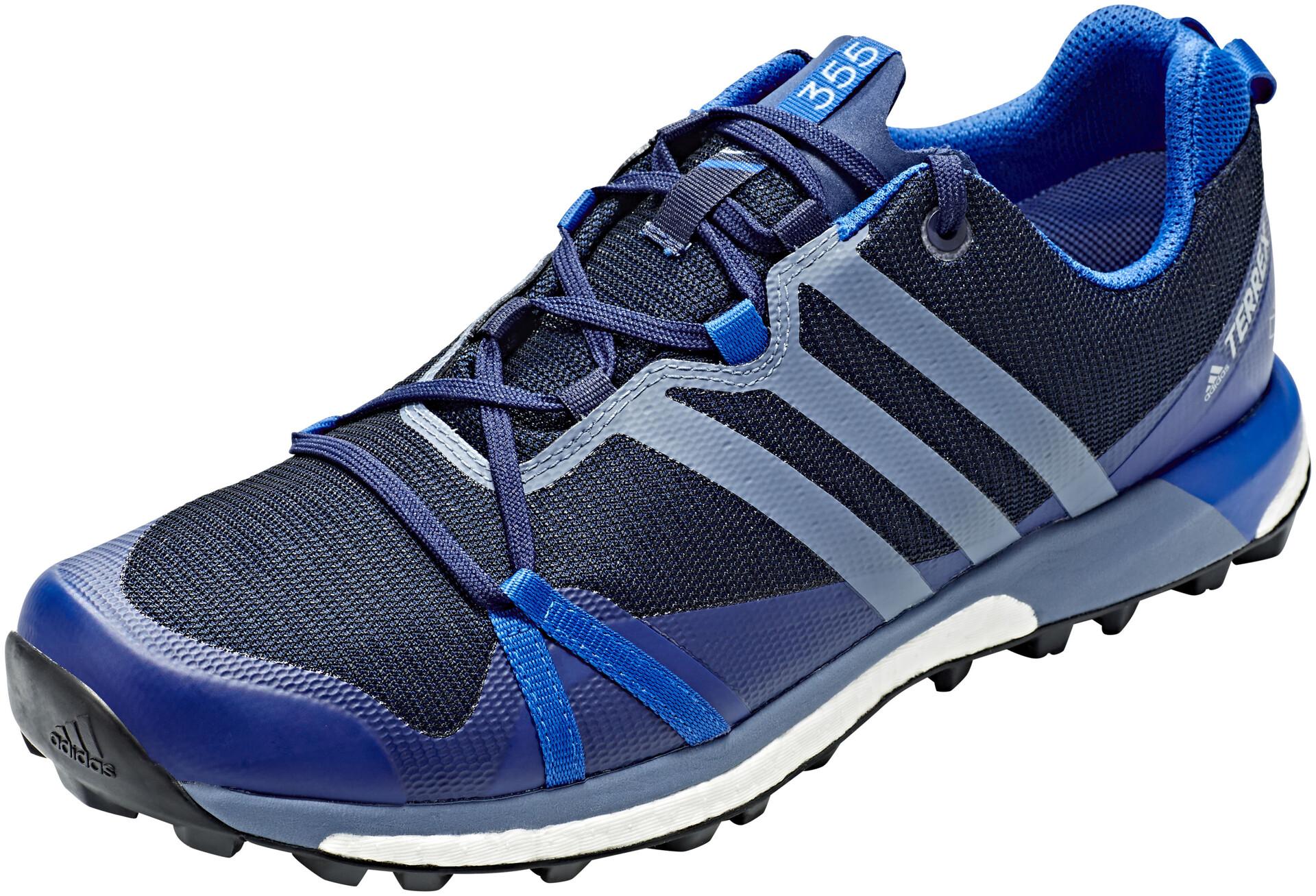 adidas TERREX Agravic GTX Hardloopschoenen Heren, collegiate navy/raw  steel/blue beauty